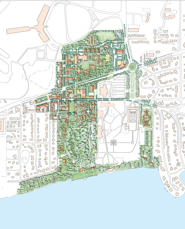 New College Of Florida Master Plan Moule Polyzoides